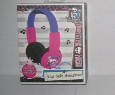 Sakar Monster High Headphones Built In Volume Limiter Headphones(Multicolor)