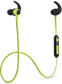 Audio ERF_STN333 Bluetooth Headphone Wireless bluetooth Headphones(Green, In the Ear)