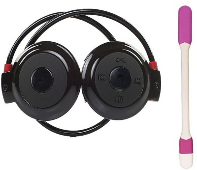 Gatasmay MINI-503 Bluetooth headset sports Mini 503 Wired bluetooth Headphones(Black, On the Ear)