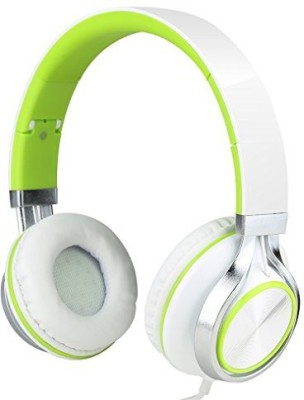 Sound Intone Ms200 Stereo Headsets Strong Low Bass Headphones Earbuds For Smartphones Mp3/4 Laptop Computers Tablet Macbook Folding Gaming Earphones (/Green) Headphones(Green)