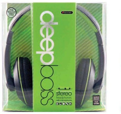 Sentry Industries Inc. Hm962 Deep Bass Stereo Headphones With Mic Headphones