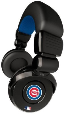 Ihip Official Mlb - Chicago Cubs - Noise Isolation Pro Dj Quality Headphone With Detachable Cord And Built-In Microphone With Headphones
