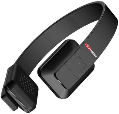 Portronics Muffs XT Wireless bluetooth Headphones(Black, Over the Ear)