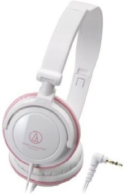 Audio Technica Audio Technica Ath-Sj11 Wpk & Pink | Portable Headphones (Japan Import) Headphones