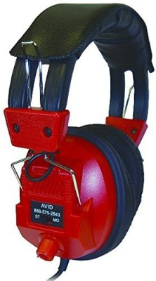 Unknown Avid Education 1Edu-Ae808R-Ed Headphone - Volume Control, Single 3.5 Mm. Pin, Adapter Headphones