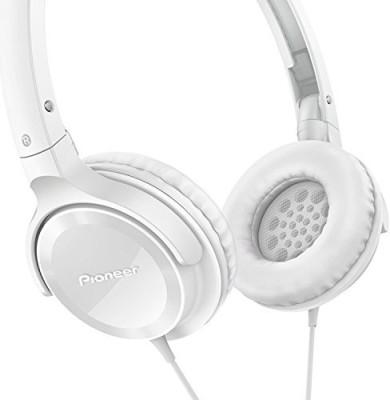 Pioneer Se-Mj502-W Se-Mj502 Fully Enclosed Dynamic Headphones Semj502 Headphones