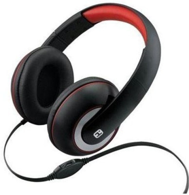Ihome Ib40B Over-The-Ear Headphones With Volume Control Headphones