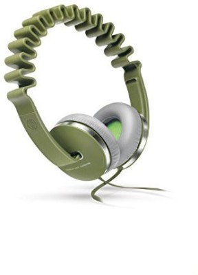 Innodesign Innowave Over The Head Headphones Olive Headphones