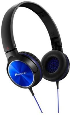 Pioneer Headphone Blue Se-Mj522-L (Japan Import) Headphones(Black)