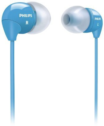 Philips SHE 3590BL/98 In-the-ear Wired Headphones(Blue, In the Ear)
