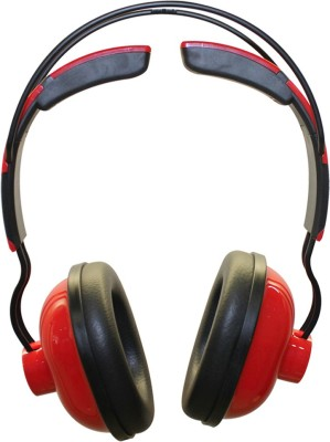 MX 3333-Red Closed Back Dynamic Headphones