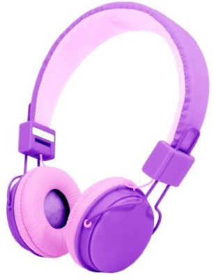 Audiology Au-350-Pur Over-Ear Stereo Headphones For Mp3 Player, Ipods And Iphones () Headphones(Purple)