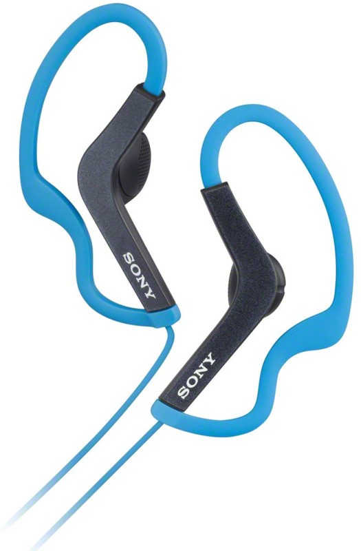 Sony MDR-AS200/LQ(IN) Wired Headphones(Blue, In the Ear)