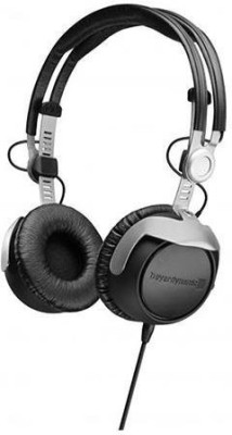 Beyerdynamic Dt-1350-80 Closed Supraaural Headphone For Control And Monitoring Applications, Musicians, And DjS, 80 Ohms Headphones(Black)