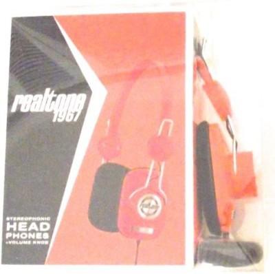 Realtone 1967 Stereophonic Headphones On-Ear Volume Knob Rt62 Headphones