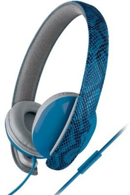 Urban Beatz Ub-Hm100-400 Python Headphones With Mic - Blue Headphones