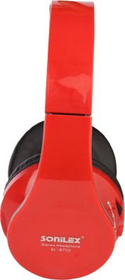 Sonilex SL-BT02 Deep Bass//Stereo Dynamic Headphone // Surround SOund Wired & Wireless bluetooth Headphones