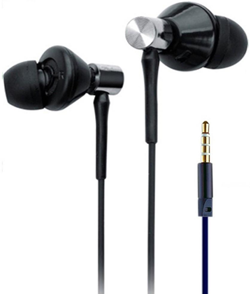 Wired Headphones Hf Zipper Universal Earphone Foncase 3s Prme Dynamic Bass