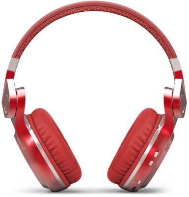 Bluedio T2 Plus Red Dynamic Wired & Wireless bluetooth Headphones