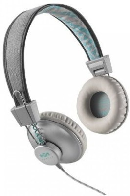 House of Marley Jammin, Positive Vibration On-Ear Headphones (Mist) Em-Jh013-Sm Headphones