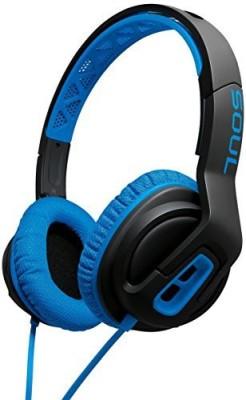 Soul Electronics Soul Transform Superior Active Performance On-Ear Headphones (Electric Blue) Headphones