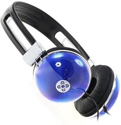 Moki Acc Hnb Neon Headphones - Blue Headphones