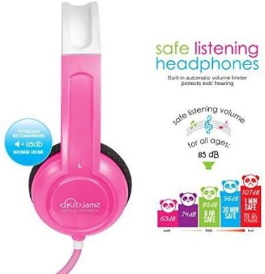 Mee Audio Kidjamz Lightweight And Durable Safe Listening Headphones For Kids With Volume-Limiting Technology () Headphones