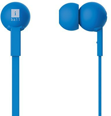 iBall Colorstick Earphone Wired Headphones(Blue, In the Ear)