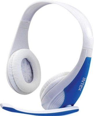 Intex HeadphoneCrush Headphones(White, Over the Ear)