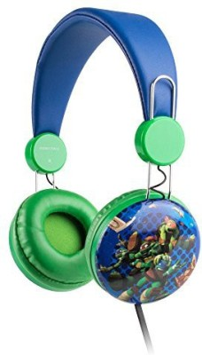 Sakar Over The Ear Kids Safe Headphones (Teenage Ninja Turtles) Headphones