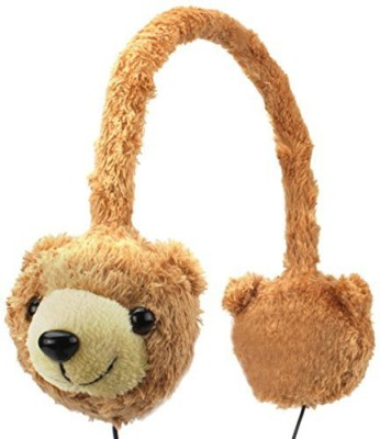 Accessory Power Gogroove Kdz Kids Safe Bear Over-Ear Headphones With Volume Limiting Sound - Works With Chromo Inc 7 , Vtech Headphones
