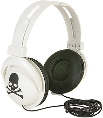 Rhode Island Novelty Skull Stereo Headphones Headphones