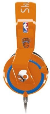 Skullcandy Mix Master Headphones With Dj Capabilities And 3 Button Mic, Nba New York Knicks Headphones