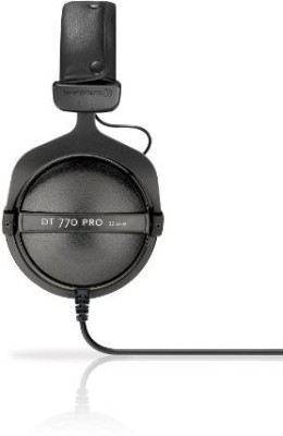 Beyerdynamic Dt-770-Pro-32 Closed Dynamic Headphone For Mobile Control And Monitoring Applications, 32 Ohms Headphones(Black)