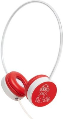 Summerland Groov-E Gvmf01Rd My First Headphones For Children With Volume Limiter - Monkey Headphones