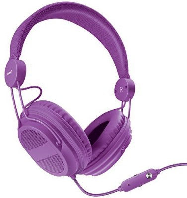 Isound Dghp-5540 Kid Friendly Headphones With Mic And Music Volume Headphones