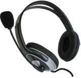 Sakar Pro Stereo Headset With Boom Mic- ...