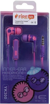 FIRETALK YK-300 FIRECANDY INK,D INNER-EAR Wired Headphones