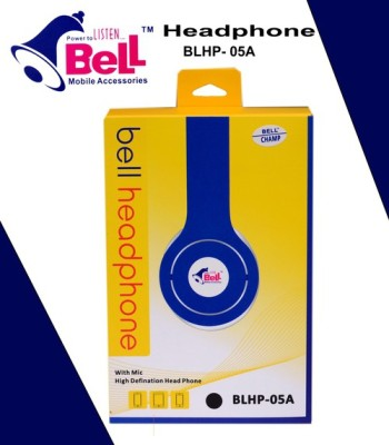 Bell BLHPO5A FOLDABLE HEADPHONE WITH MIC Wired Headphones