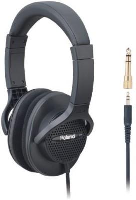 Roland Rh-A7 Bk Open-Air Type Monitor Headphones Headphones