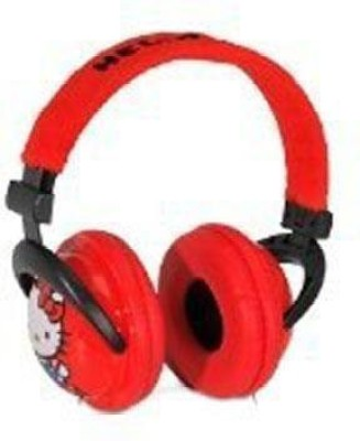 Sakar Hello Kitty 35009-N Plus Headphone With Plush Ears, (Discontinued By Manufacturer) Headphones