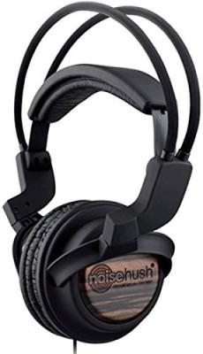 Noisehush Nx22R 3.5Mm Hd Stereo Headphones With In-Line Mic - Wood Original Oem Nx22R-12447 - Wi Headsets - Retail Headphones