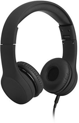 Lilgadgets Connect+ Volume Limited Wi Headphones With Shareport For Children (Black) Headphones