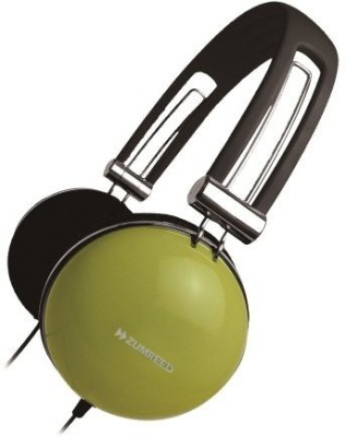 Zumreed Retro Style Over-The-Ear Headphones Olive (Zum-80299) (Discontinued By Manufacturer) Headphones