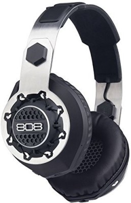808 Performer Bt - Wireless + Wi Over-Ear Headphones - Black Wired bluetooth Headphones