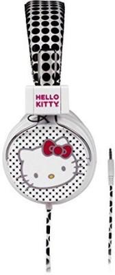 Sakar Hello Kitty Hk-Pdot-Ta Polka Dot Headphone Headphones(Multicolor)