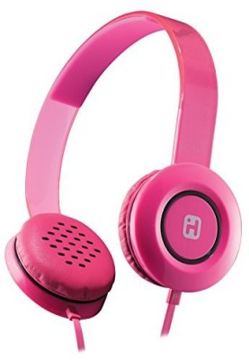 Ihome Stereo Headphones With Flat Cable - (Ib35Pnc) Headphones
