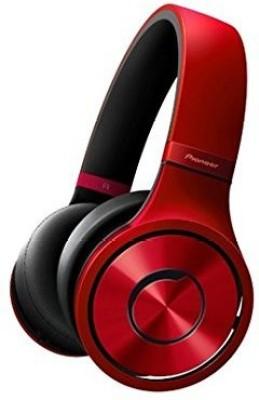 Pioneer - Se-Mx9-R Premium (Superior Club Sound Headphones) Headphones(Red)