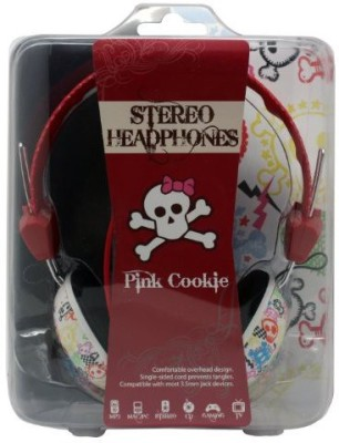 Dgl Pck-825-Csk Hype Pink Cookie Colorful Skull Headphones Headphones