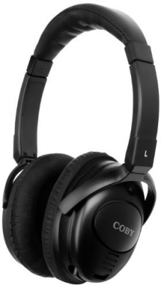 Coby Cv195 Digital Active Noise-Canceling Stereo Headphones, (Discontinued By Manufacturer) Headphones
